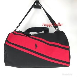 Polo Ralph Laure Gym Bag Duffel Luggage Holdall